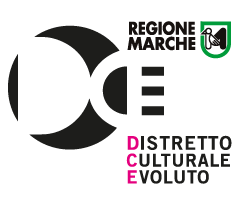 Logo di DCE Distretto Culturale Evoluto Marche